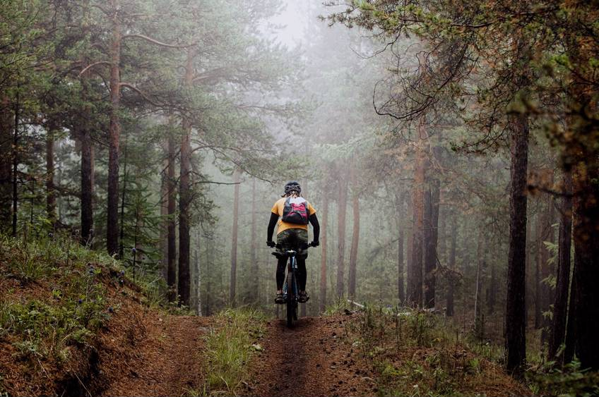 kursus i mountainbike