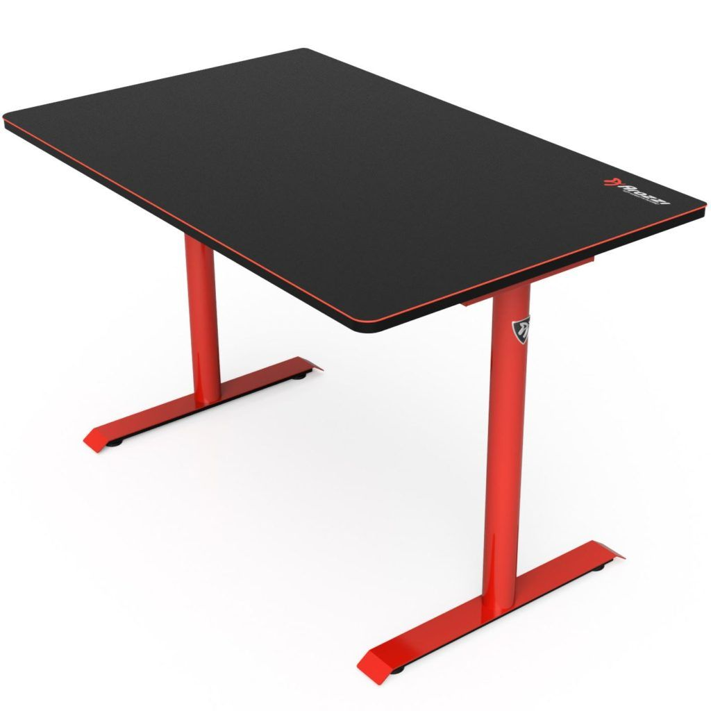 Arozzi Arena Leggero Gaming Desk - Red