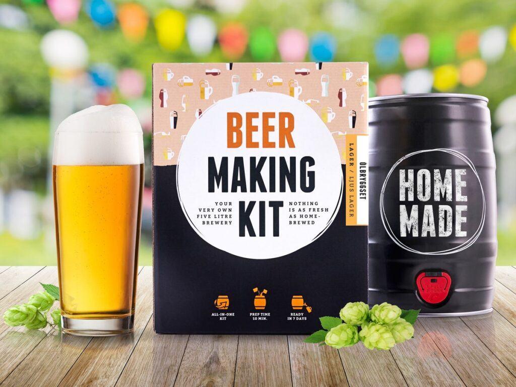 sæt til at brygge sin egen øl