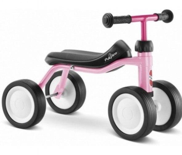 pige babycykel i pink