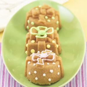 Bageform til 6 små gaver, muffins