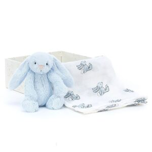 Jellycat Gave?ske - Bamse/Stofble - Bashful Blue Bunny