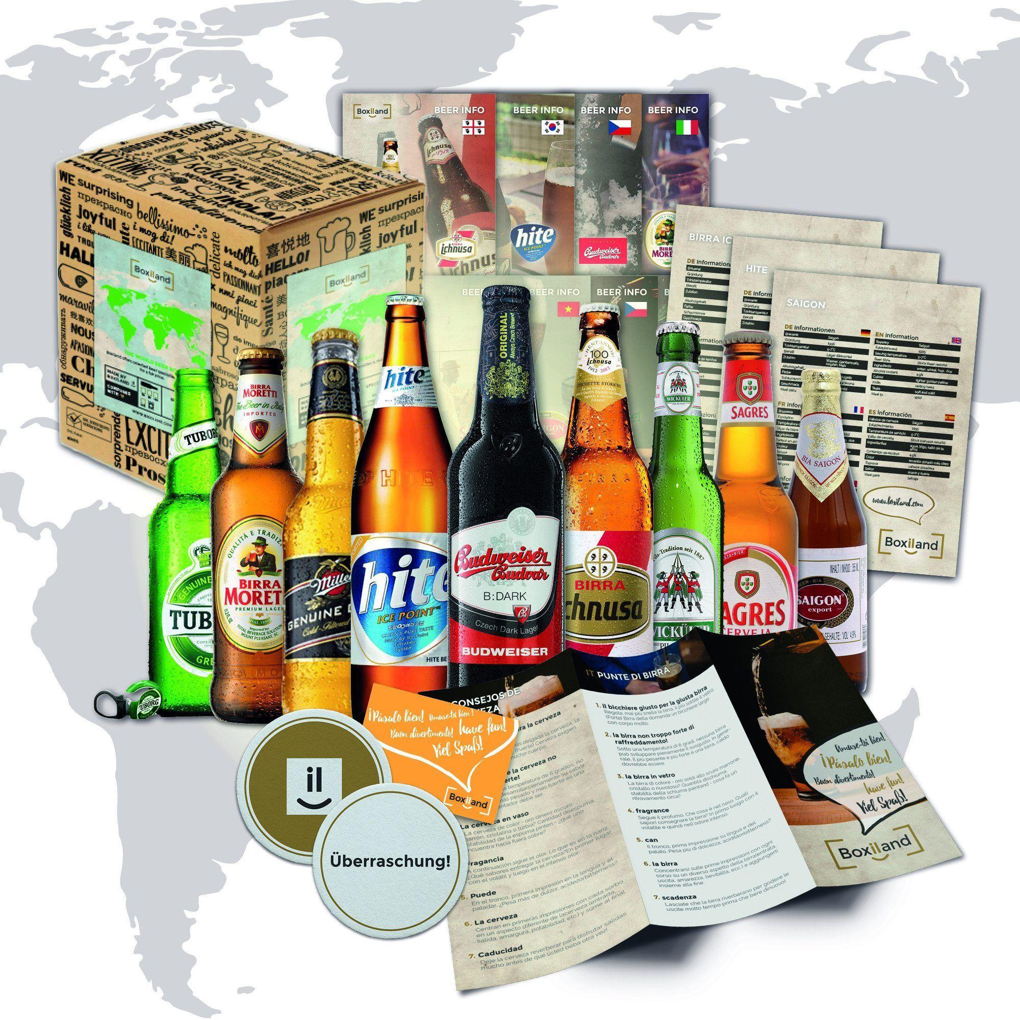 svendegaver - øl fra hele verden som svendegave