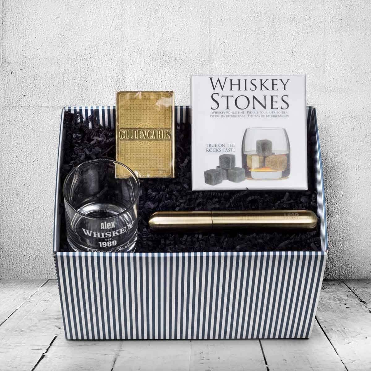 whiskey gaven til manden der har alt